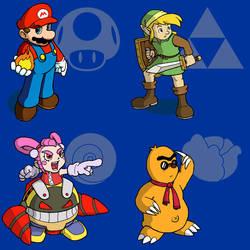 Nintendo All-Stars 1: Nov 07 by fryguy64