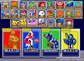 Old - Super Smash Bros Classic by fryguy64