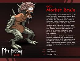 Nintober 001. Mother Brain by fryguy64