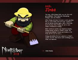 Nintober 003. Jinbe by fryguy64