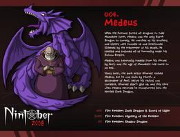 Nintober 004. Medeus by fryguy64