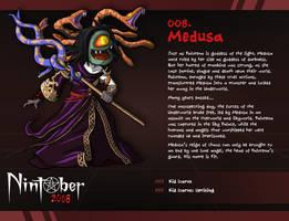 Nintober 008. Medusa by fryguy64