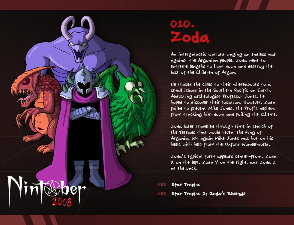 Nintober 010. Zoda