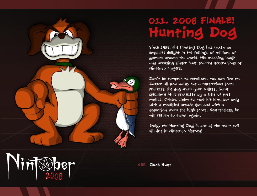 Nintober 011. Hunting Dog