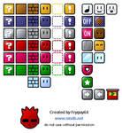 Mario Block Icons by fryguy64