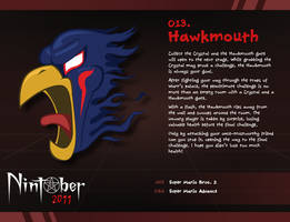 Nintober 013. Hawkmouth by fryguy64