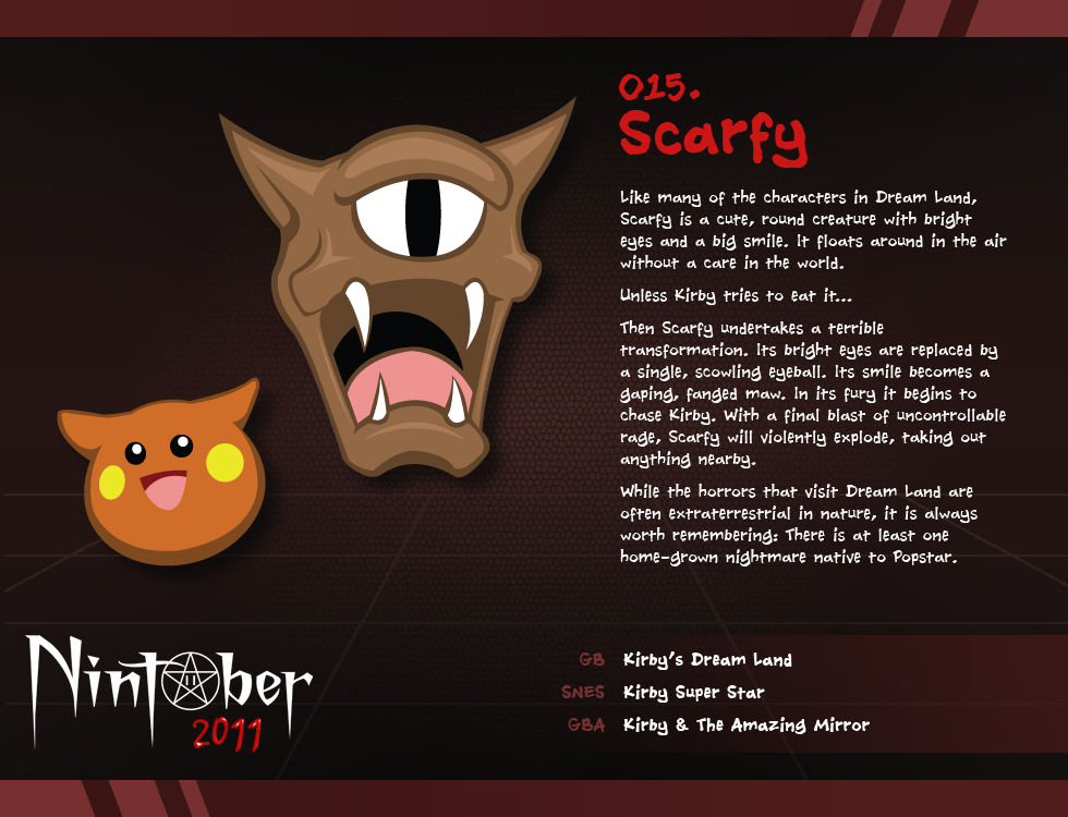 Nintober 015. Scarfy