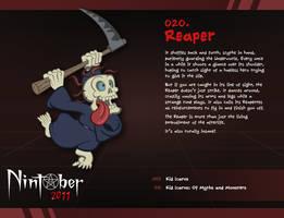 Nintober 020. Reaper by fryguy64