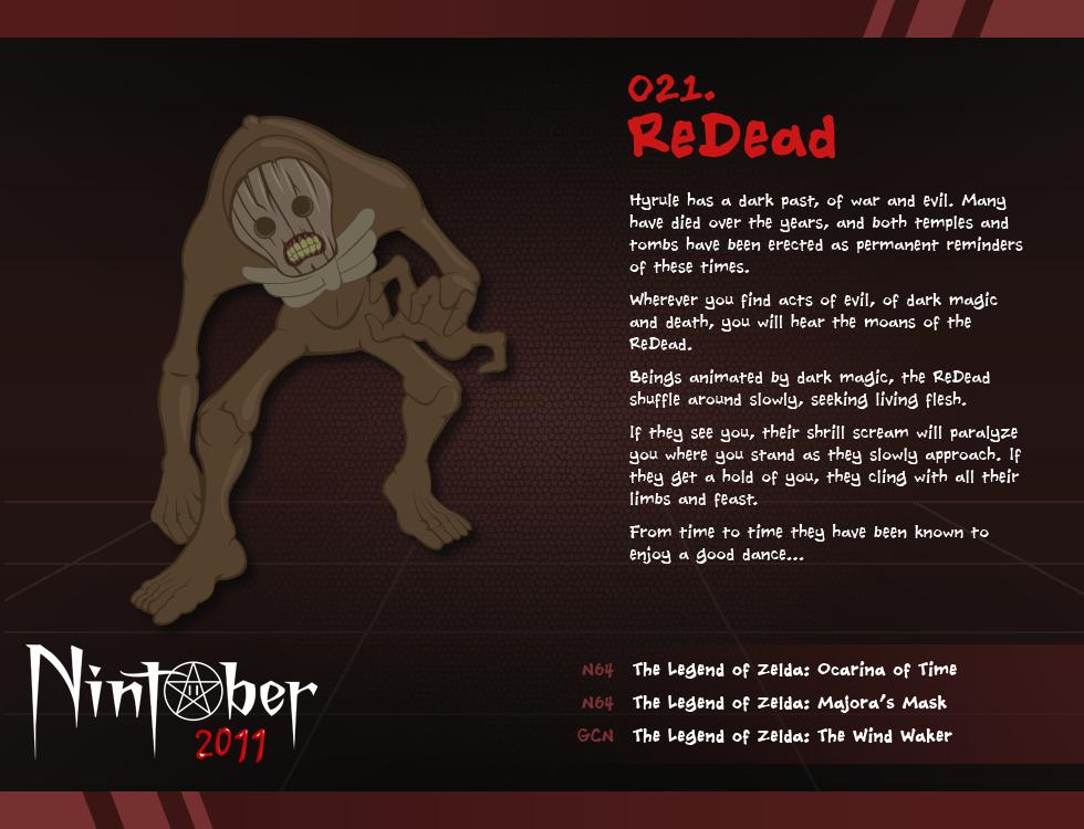 Nintober 021. ReDead by fryguy64