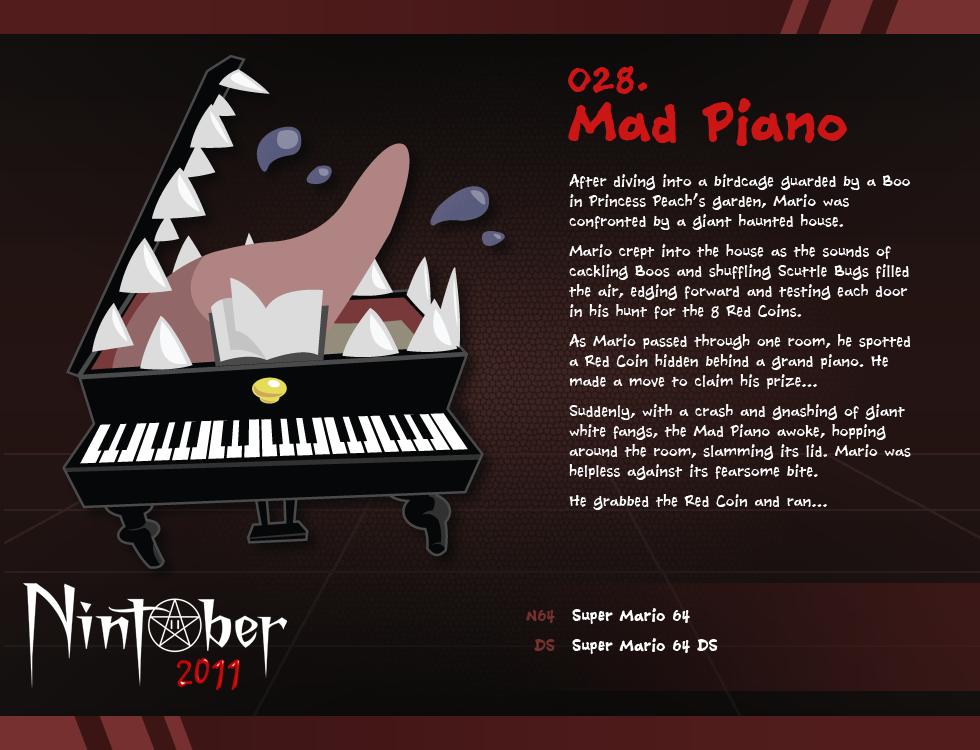 Nintober 028. Mad Piano
