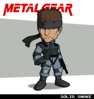 Solid Snake (Metal Gear) by fryguy64