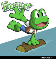 Frogger by fryguy64