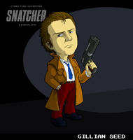 Gillian Seed (Snatcher) by fryguy64