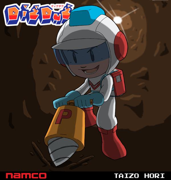 Taizo Hori (Dig Dug) by fryguy64