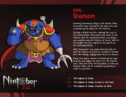 Nintober 049. Ganon by fryguy64