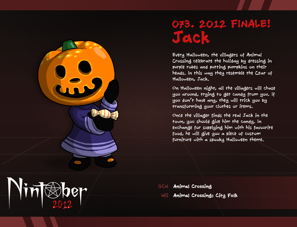 nintober 073 - Halloween Animal Crossing City Folk