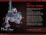 Nintober 099. Horror Keeper