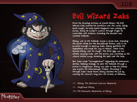 Nintober #108. Evil Wizard Zaks