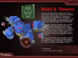 Nintober #109. Anubis and Thanatos by fryguy64