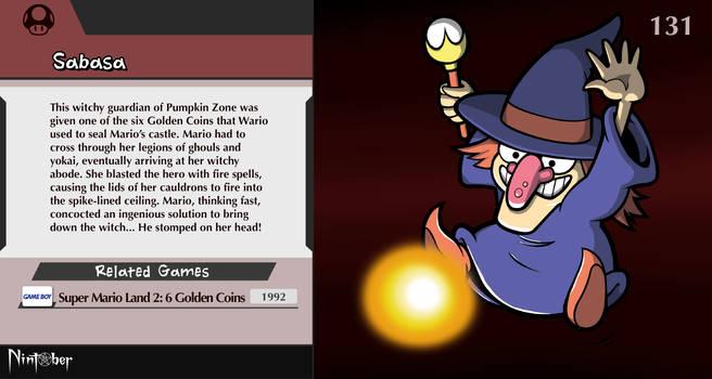 Nintober #131. Sabasa (Super Mario Land 2)