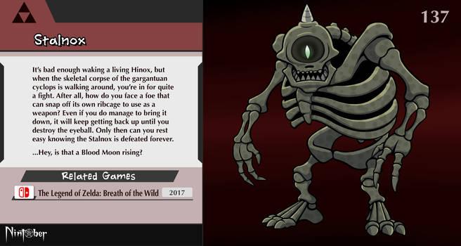 Nintober #137. Stalnox (Zelda: Breath of the Wild)