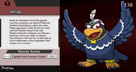 Nintober #138. Wingo (Captain Toad)