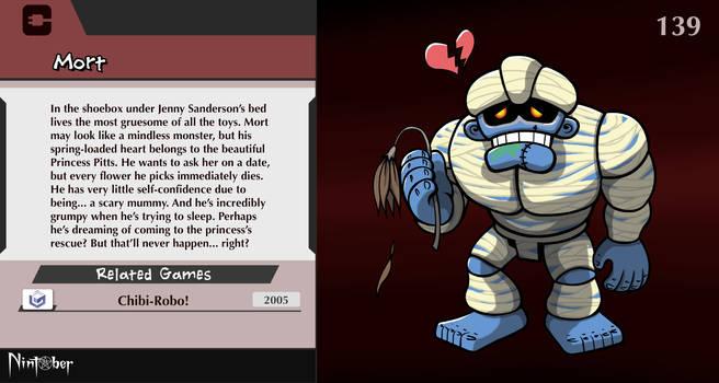 Nintober #139. Mort (Chibi-Robo!)