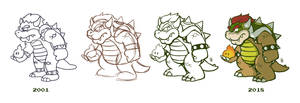 Re-Drawing Bowser