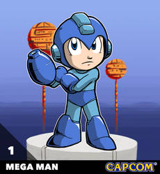 Capcom All-Stars 1. Mega Man (Original Ver.)