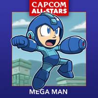 Capcom All-Stars 1. Mega Man