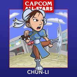 Capcom All-Stars 2. Chun-Li
