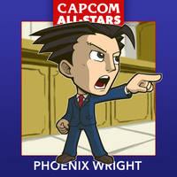 Capcom All-Stars 3. Phoenix Wright