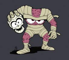 MONSTER HEROES No. 1: Chuck D. Head (Decap Attack)