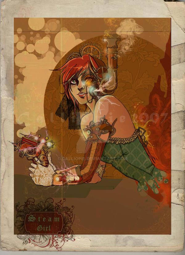 Steam Girl by Calliopie