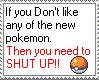 Like all pokemon stamp