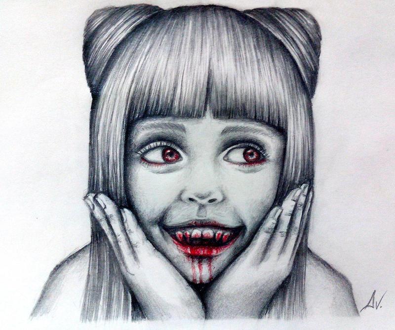 Innocent smile by ADRIANVALDEZ
