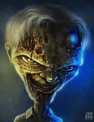 Zombie II by ADRIANVALDEZ