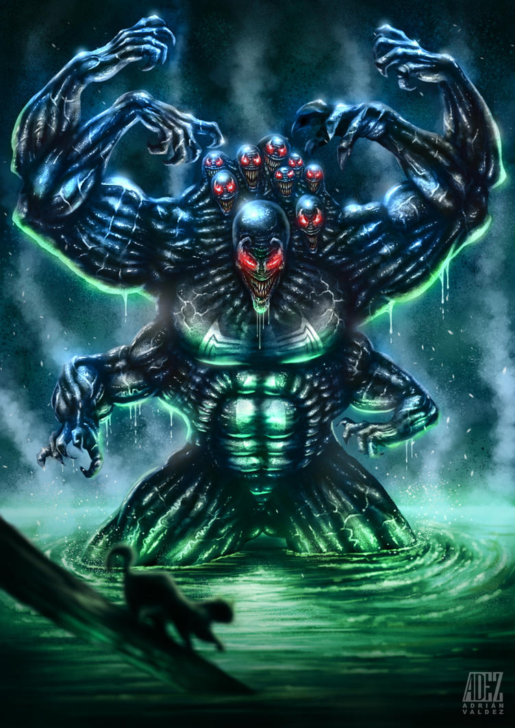 Venom: The Madness by ADRIANVALDEZ on DeviantArt