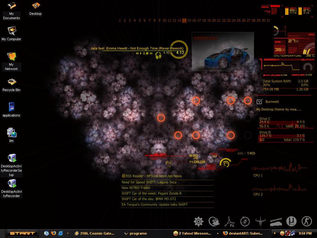 My Desktop by Burnwell88