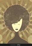 curlybrownmodel by imadawwas