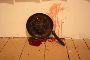 Deadpan: shot