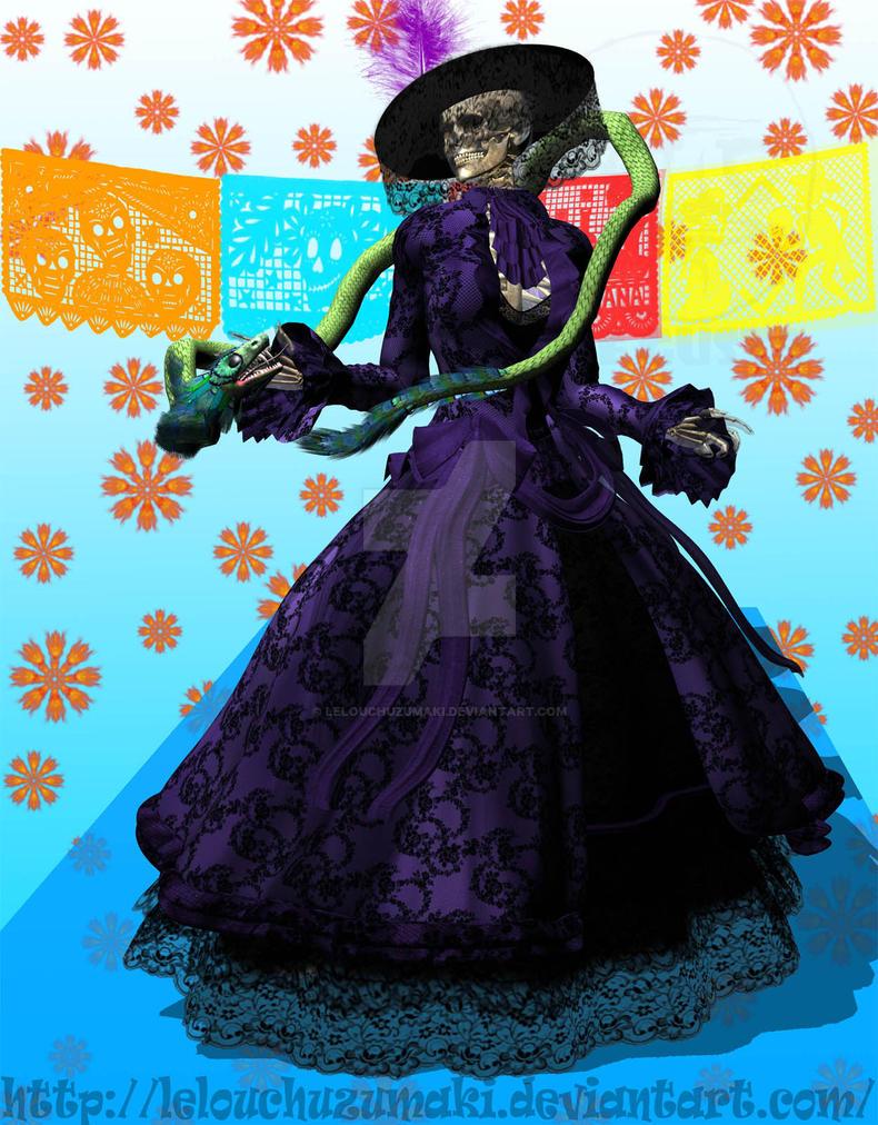 Vestidos elegantes de la catrina