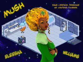 FanArt Mush - Eleesha by Luckytrefle