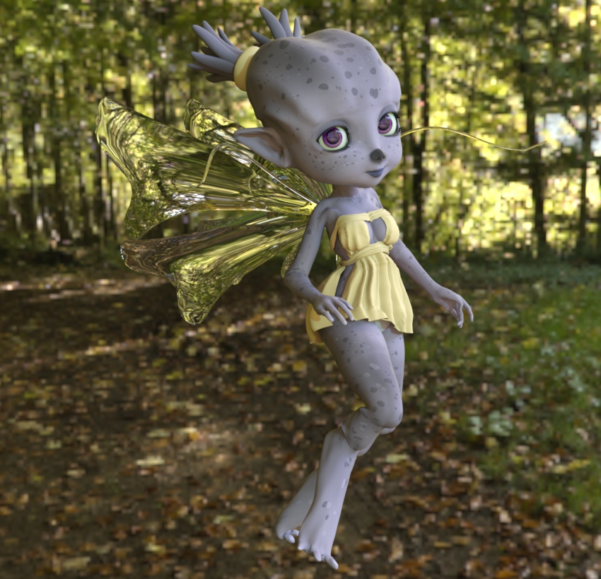 Fairy Genesis - Daz Studio by Luckytrefle