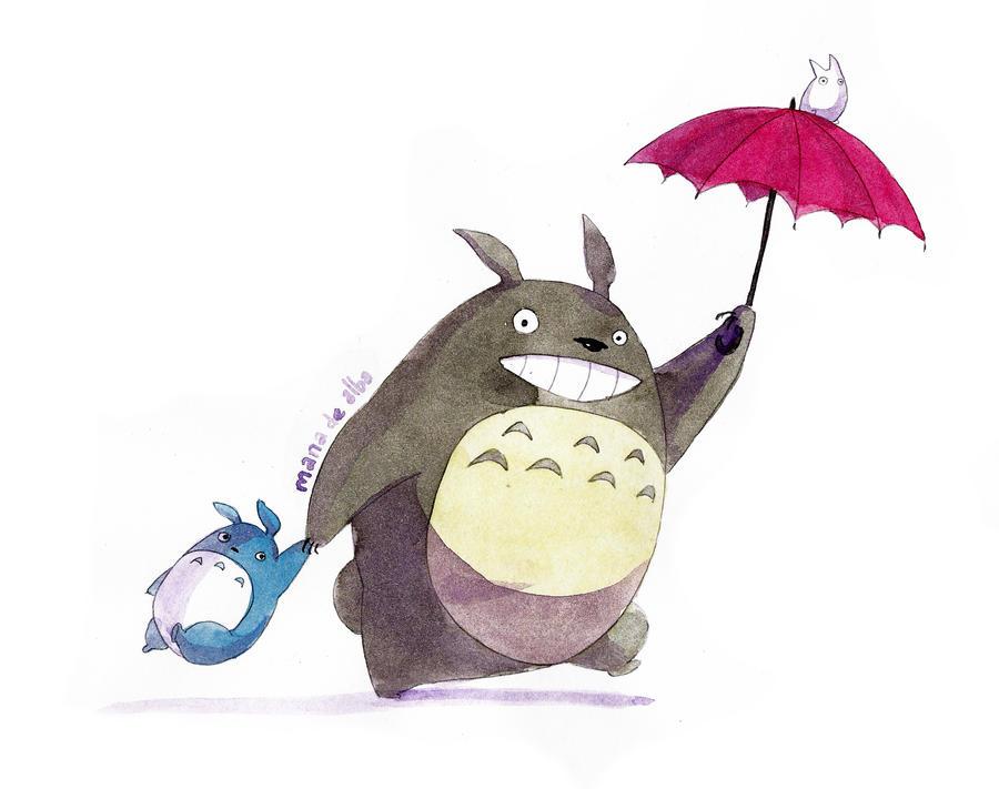 Totoro by Manawua
