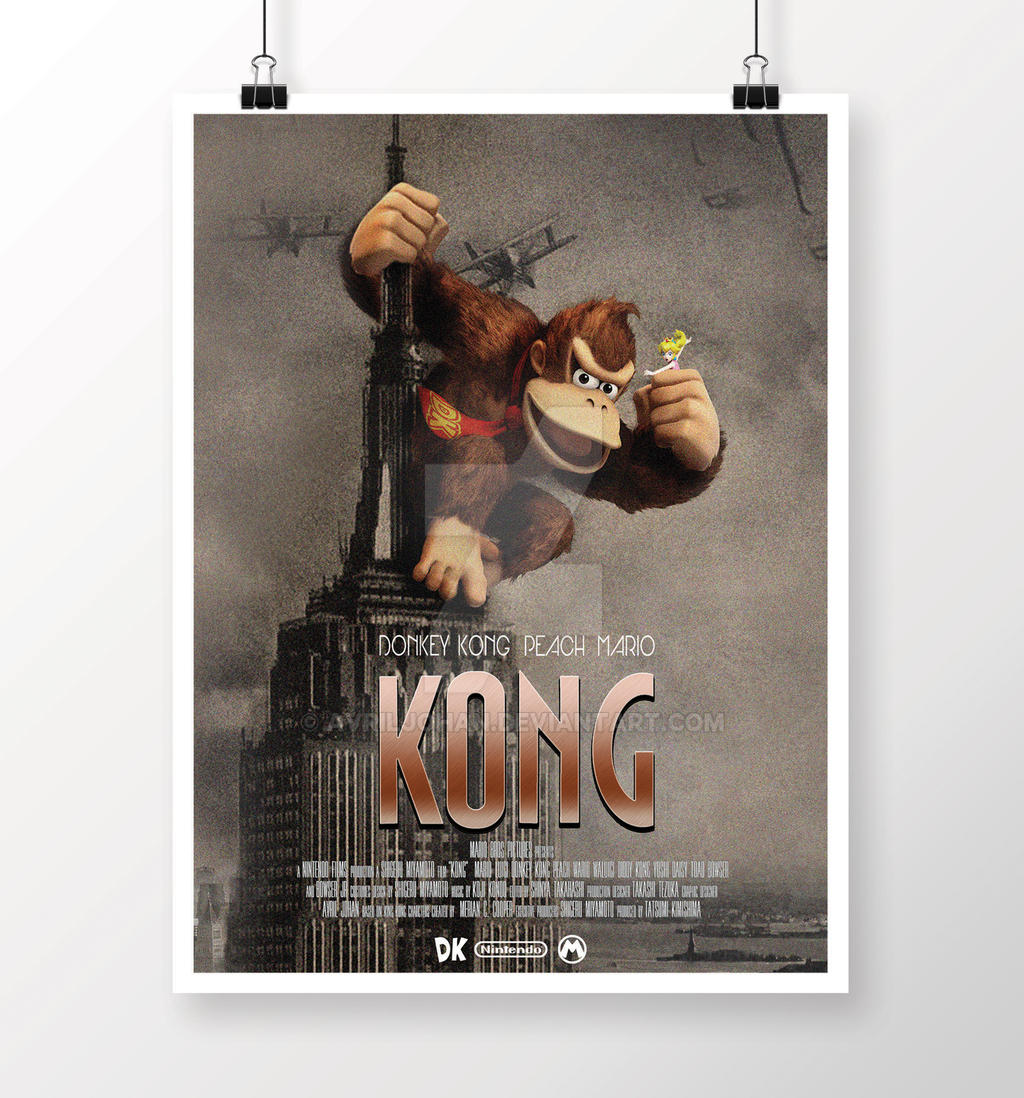 Kong by avriljohan