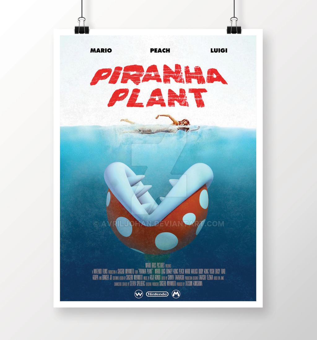Piranha Plant by avriljohan