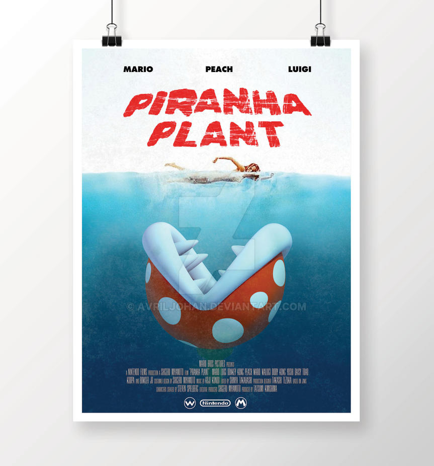 Piranha Plant by avriljohan