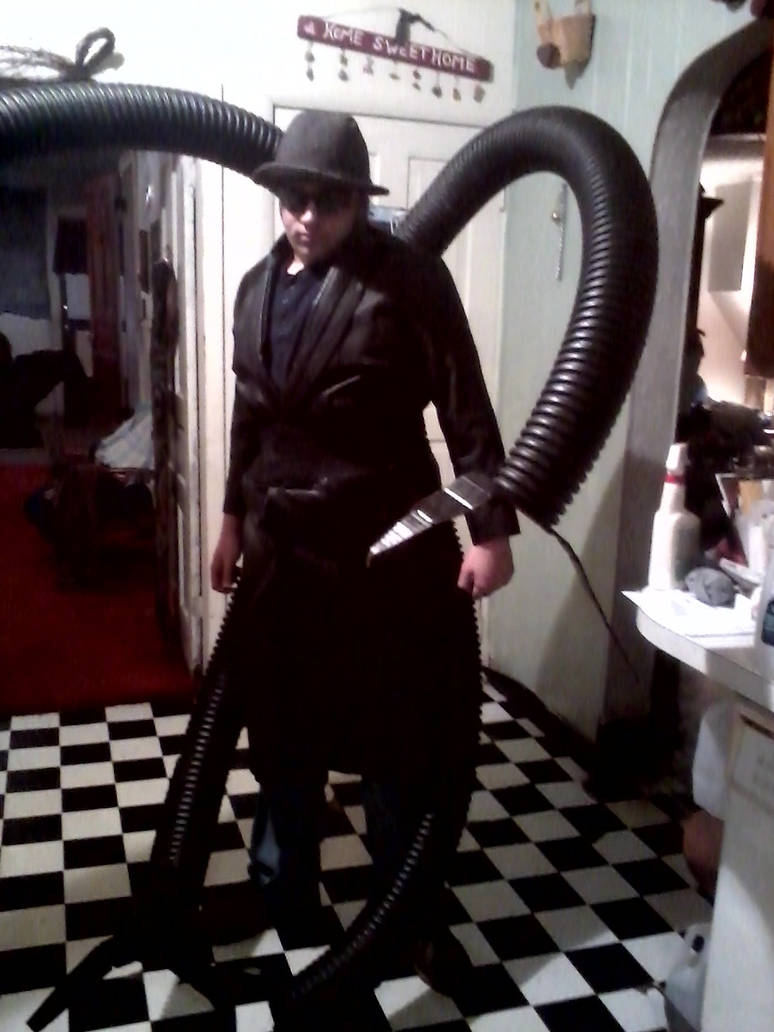 Doc Ock Costume Finished By Sephirothfighter17 On Deviantart