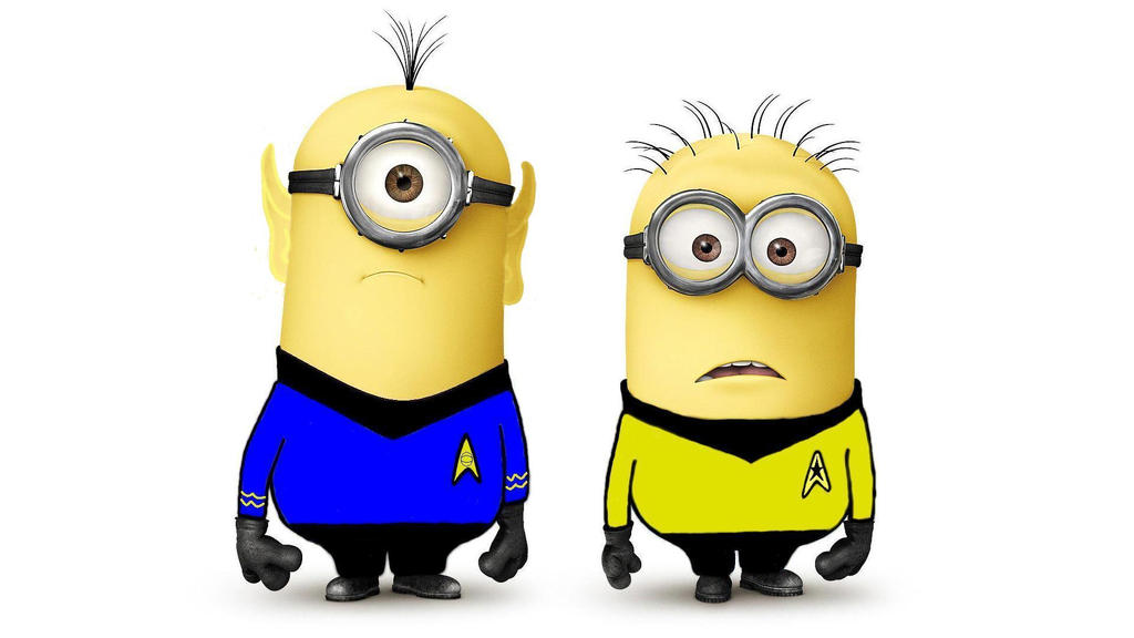 Star Trek Minions by VulcanSarek22